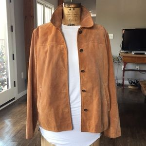 Leather (suede) J Crew jacket
